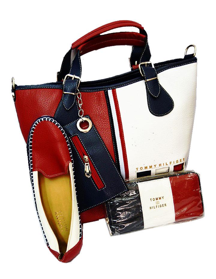 achat le plus récent prix pas cher correspondant en couleur ShoppingList | Ensemble sac chaussure et pochette femme ...